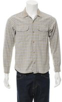 Chimala Windowpane Flannel Shirt