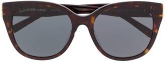 Balenciaga Dynasty cat-eye frame sunglasses