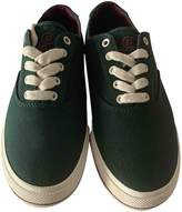 Polo Ralph Lauren Green Cloth Trainers