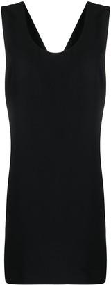 P.A.R.O.S.H. bow-detail sleeveless dress