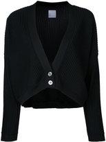 CITYSHOP oversized long sleeve ribbed cardigan - women - Cotton/Polyester - One Size
