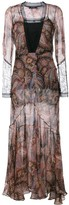 Etro Paisley Print Evening Dress