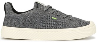 Cariuma IBI Low Stone Grey Knit Sneaker