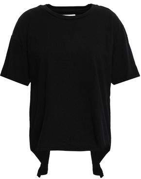 Current/Elliott Cutout Cotton-jersey T-shirt