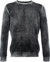 Avant Toi distressed jumper - men - Cashmere - S