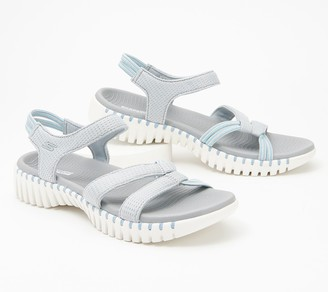 Skechers GOwalk Smart Stretch Fit Strap Sandals- Flirty