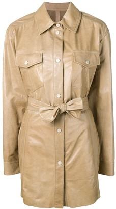 Drome Overshirt Belted Jacket