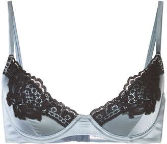 Fleur Du Mal James lace padded bra