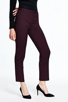 Lands' End Women's Slim Ankle Pants-Black