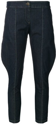 Giorgio Armani Pre-Owned Super Skinny Cropped Jeans