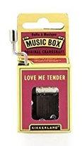 Kikkerland Love Me Tender Crank Music Box