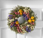 Pottery Barn Live Floral Medley Wreath