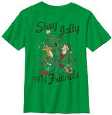 Fifth Sun Kelly Green 'Stay Jolly' Tee - Boys