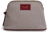 Henri Bendel Large Striped Canvas Cosmetic Bag