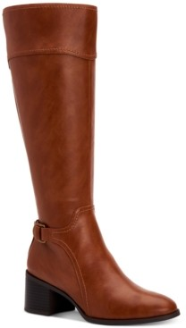 Style&Co. Style & Co Vannie Riding Boots, Created for Macy's Women's Shoes