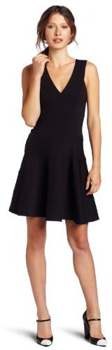Robert Rodriguez Women's Seamed Fit-and-Flare Dress