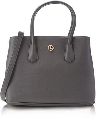 L.Credi Womens Yvonne Handbag Gray Size: Dimensions (W x H x D): 33 x 25 x 14 cm
