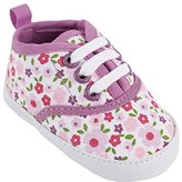 Luvable Friends Girl's Print Canvas Sneaker (Infant) M US Infant