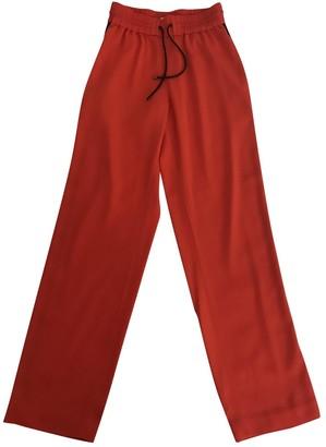 Kenzo Orange Trousers for Women