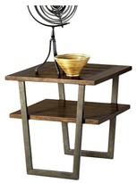 Progressive Sedona End Table - Wire Brushed Light Elm Furniture