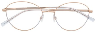 M Missoni Round-Frame Glasses