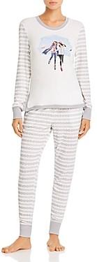 Jane & Bleecker New York Fair Isle Long Pajama Set - 100% Exclusive