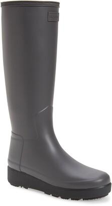 Hunter Refined Creeper Tall Rain Boot
