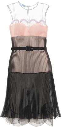 Prada Pleated cigaline dress