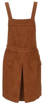 Naf Naf EVELVETA women's Dress in Brown