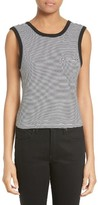 Alexander Wang Women's Twist Back Stripe Tank