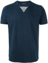 Etro striped detail T-shirt