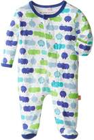 Magnificent Baby 1765- Hippo Friends Footie