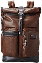 Tumi Alpha Bravo - Luke Leather Roll-Top Backpack Backpack Bags