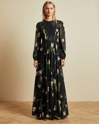 Ted Baker DEENHA Elderflower maxi dress