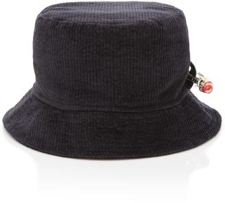 Federica Moretti Corduroy Bucket Hat