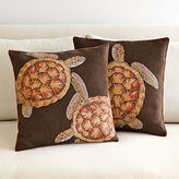 French Jacquard Turtle Pillows