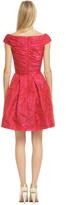 Theia Hybrid Tea Rose Dress