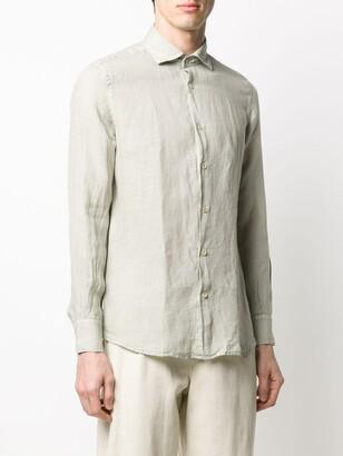 Glanshirt slim fit French collar shirt