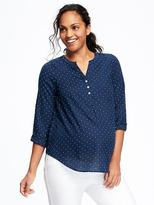 Old Navy Maternity Printed Lightweight Tunic