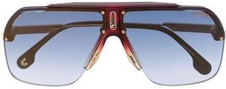 Carrera Oversized Aviator Frame Sunglasses