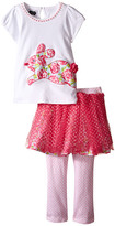 Mud Pie Bunny Tutu Skirt Set (Toddler)