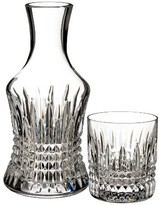 Waterford Lismore Diamond 2-Piece Lead Crystal Bedside Carafe Set