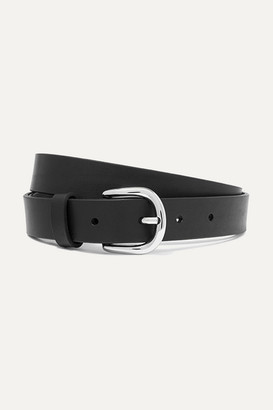 Isabel Marant Zap Leather Belt - Black