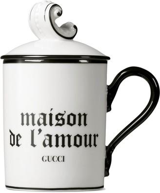 """Gucci """"Maison De L'Amour"""" mug"""