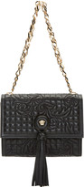 Versace Black Quilted Vanitas Shoulder Bag