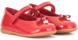 Dolce & Gabbana Kids Mary Jane ballerina shoes