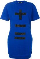 Love Moschino embellished sweatshirt dress - women - Cotton/Polyester - 42