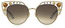 Jimmy Choo Women's Audrey 54MM Cat Eye Sunglasses