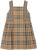 Burberry Girl's Astrid Vintage Check Cotton Sun Dress, Size 3-14