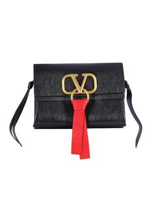 Valentino Small Cross Body Bag V Ring